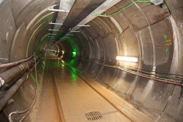 Túnel de la interconexión eléctrica España-Francia