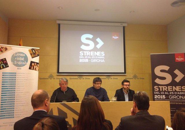 Xavier Soy, vicepresidente Diputación Girona.JPG; Carles Puigdemont, alcalde Gir