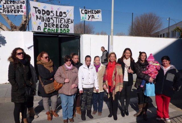 Nota De Prensa PP, Colegio Jerónimo Luis Cabrera, Viernes 6 Feb