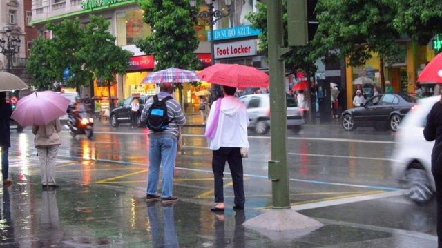 Lluvia En Santander