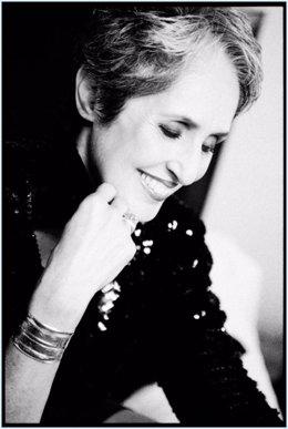 La cantante Joan Baez