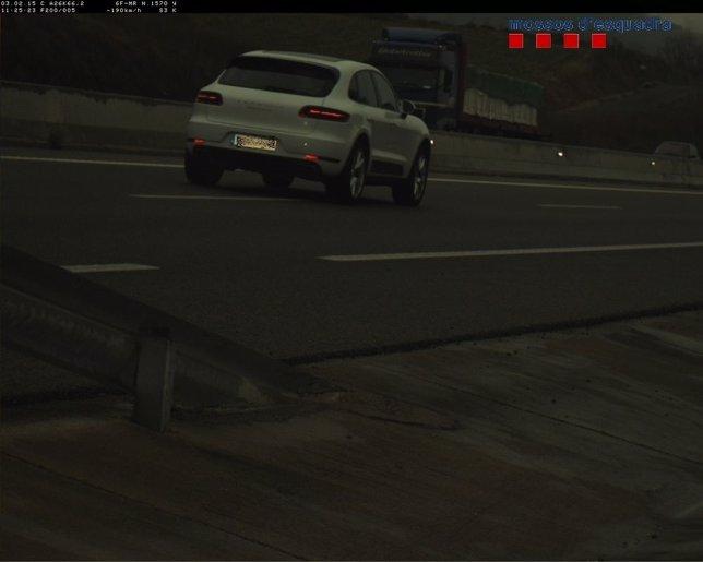 Vehículo detectado a 190 km/h en un tramo limitado a 100 en Argelaguer