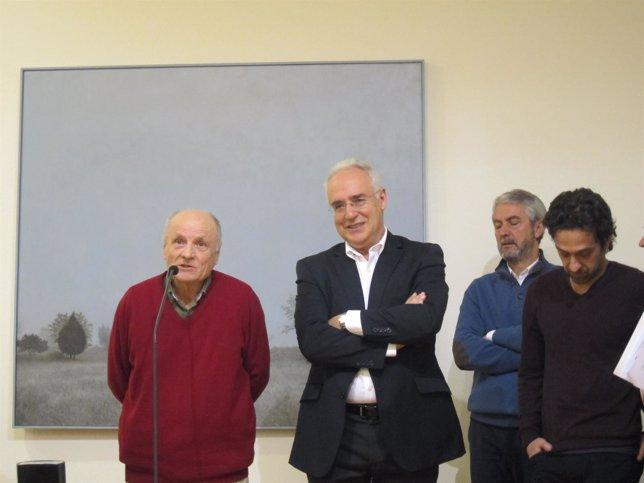 Antonio López junto a José Ignacio Ceniceros