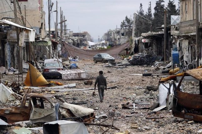 Kobani destruida (1)