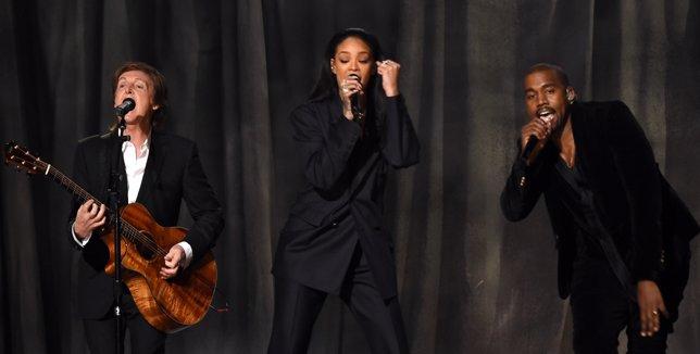 Las mejores actuaciones de los Grammy 2015