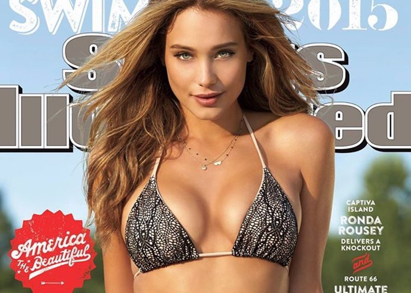 938e40780110 La explosiva Hannah Davis luciendo bikini para 'Sports Illustrated'