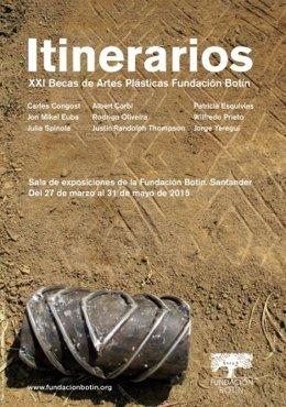 Cartel de la XXI edición de Itinerarios
