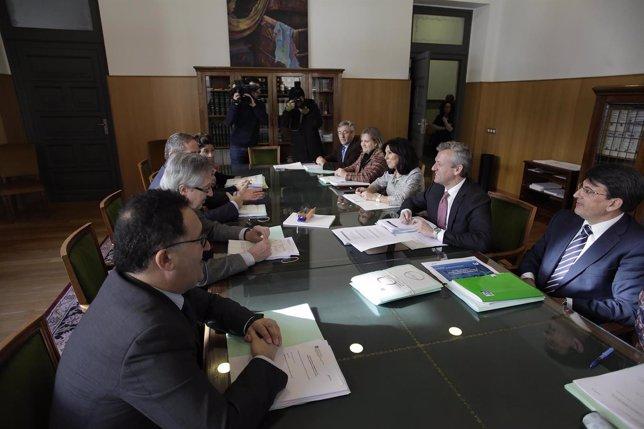 Xunta y TSXG en comisión mixta