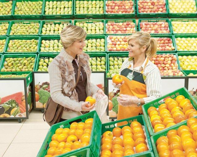 Mercadona compra más de 5.200 toneladas de Kaki de la Ribera