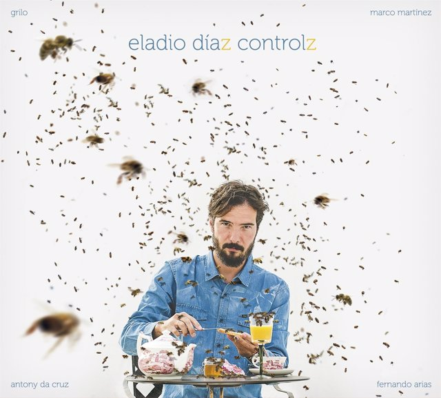Portada del disco de Eladio Díaz.