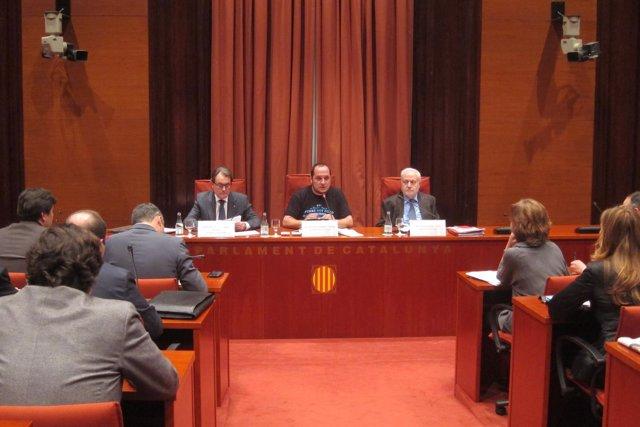 Comparecencia del presidente de la Generalitat , A. Mas