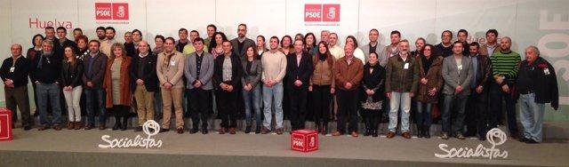 Candidaturas socialistas de Huelva.