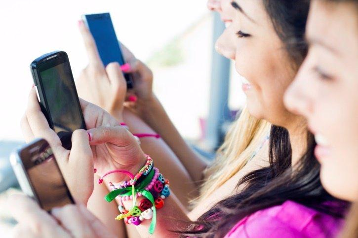 Redes sociales, adolescentes, Smartphones, Móviles, Instagram