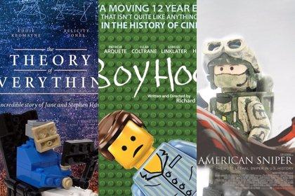 Las películas nominadas al Oscar, en versión LEGO