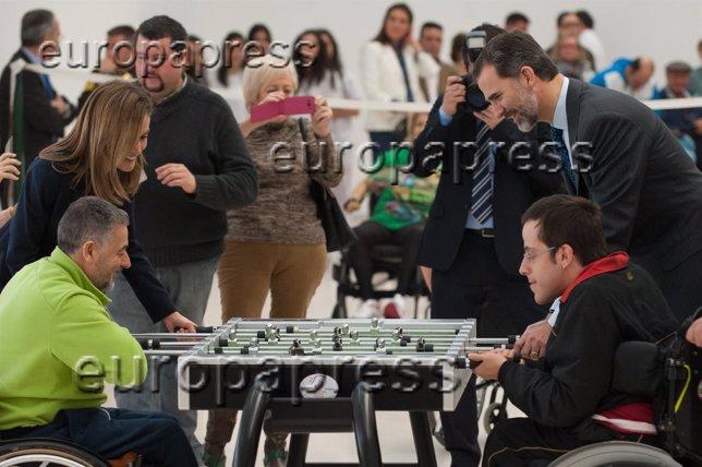 Los Reyes Felipe y Letizia celebran el 40 aniversario de parapléjicos Toledo