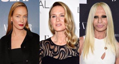 Uma Thurman, Renée Zellweger y más estrellas destrozadas por la cirugía