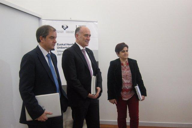 El rector de la UPV/EHU, Iñaki Goirizelaia