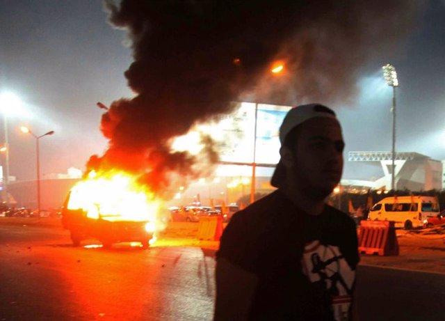 Enfrentamientos en El Cairo
