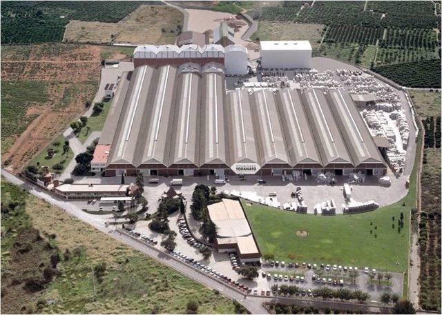 La empresa cerámica Todagres, perteneciente al holding Grupo Fuertes