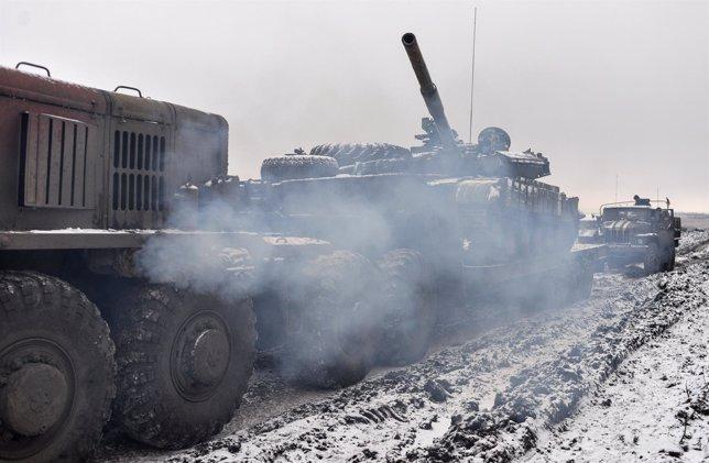 Convois militares en Ucrania, Donetsk