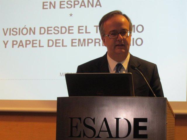 Simón Pedro Barcelona, copresidente de Grupo Barceló