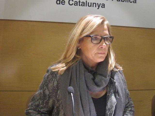 La vicepresidenta de la Generalitat Joana Ortega