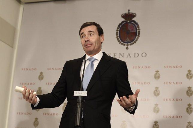 Tomás Gómez deja el Senado por la polémica sobre el CGPJ