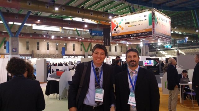 Directivos de Soltel en Transfiere 2015
