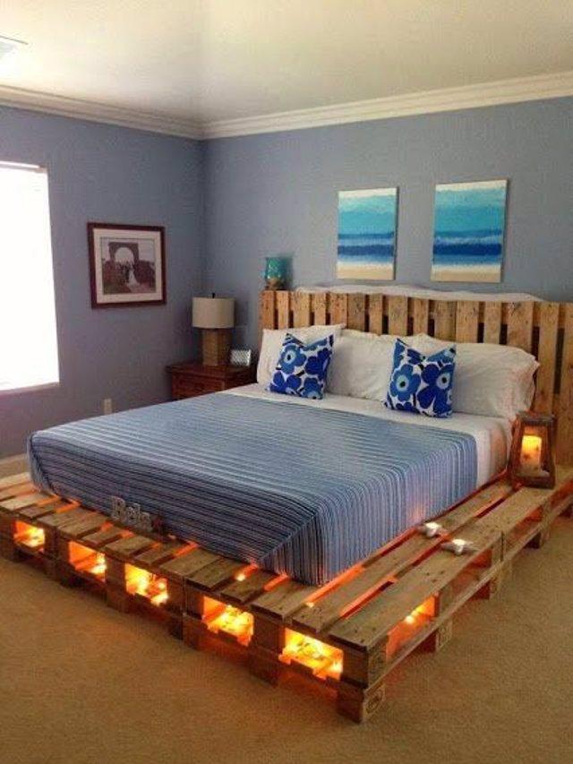 20 ideas originales para hacer muebles con palets
