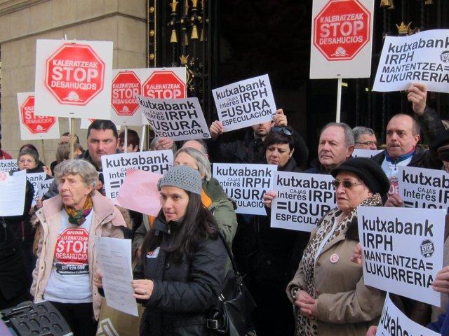 Concentración de Stop Desahucios.
