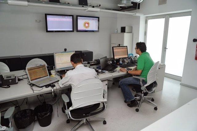 Trabajadores De Una Empresa Instalada En El Parque Científico De Murcia
