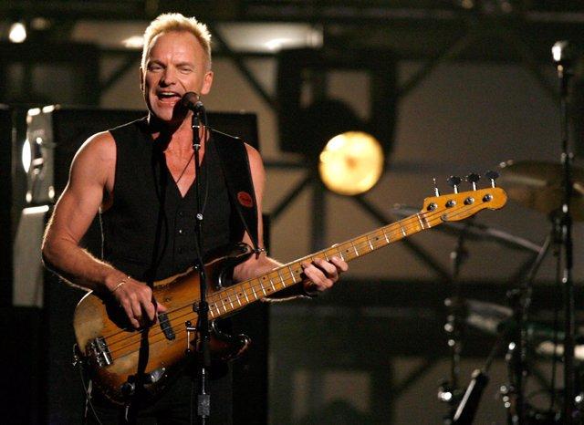 El cantante Sting