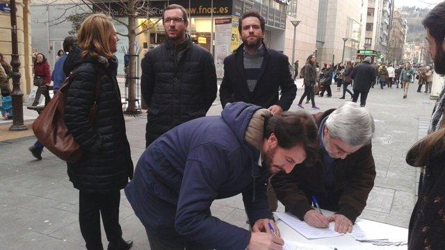 Representantes del PP apoyan a Ayudas + Justas