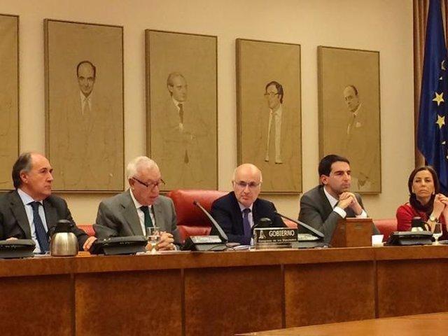 Margallo, en la Comisión de Asuntos Exteriores
