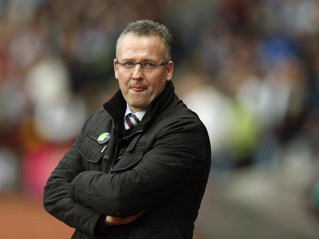 Paul Lambert, ex entrenador del Aston Villa