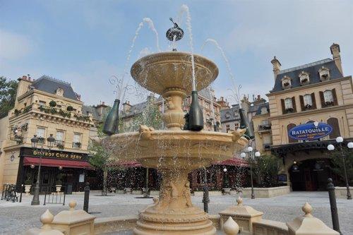 Atracción de Ratatouille en Disneyland Paris