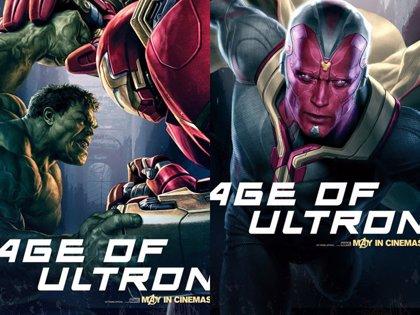 Los Vengadores: La era de Ultron, avalancha de carteles... con Visión