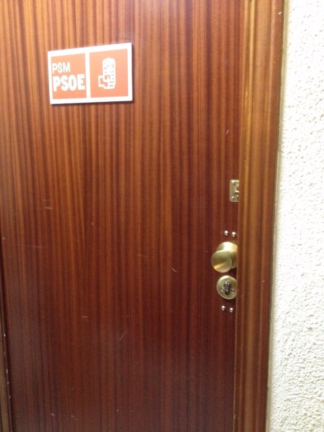 Ferraz cambia la cerradura de la sede del PSM, en Callao