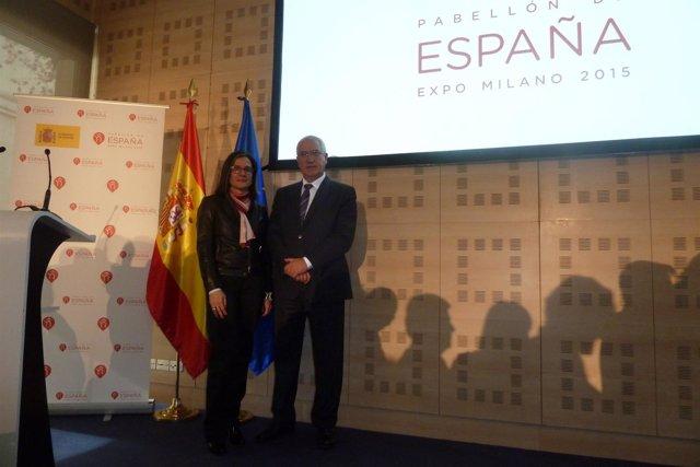 Presentación pabellón de España para la expo de Milán