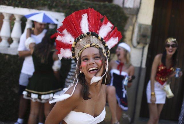 Mujeres brasileñas en Carnaval