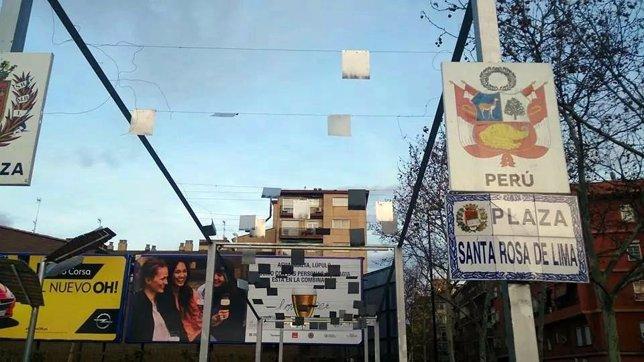 Nota De Prensa PP / Placas Peligrosas En Las Fuentes