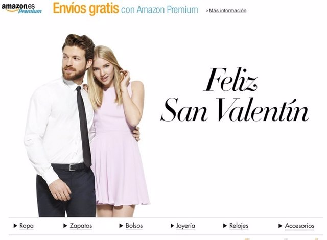 Amazon San Valentín