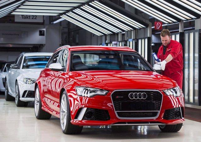Planta de Audi en Neckarsulm (Alemania)