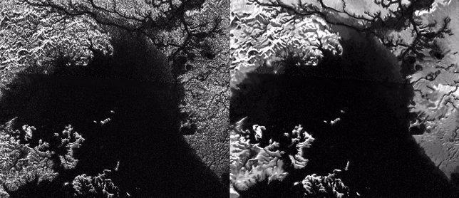 Imágenes de Titán