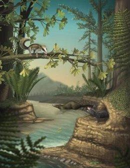 Ancestros de los mamíferos arbóreos