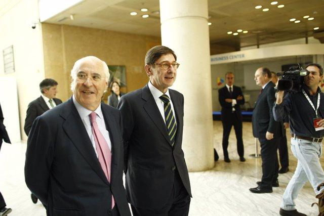 José Ignacio Goirigolzarri y Rafael Miranda.