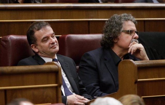 Alfred Bosch y Joan Tardà