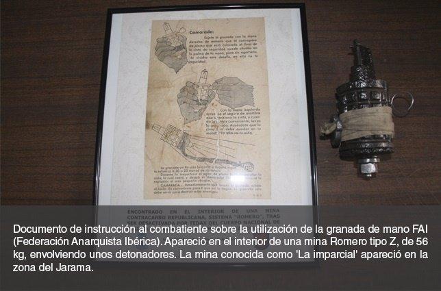 TEDAX. Artefacto explosivo