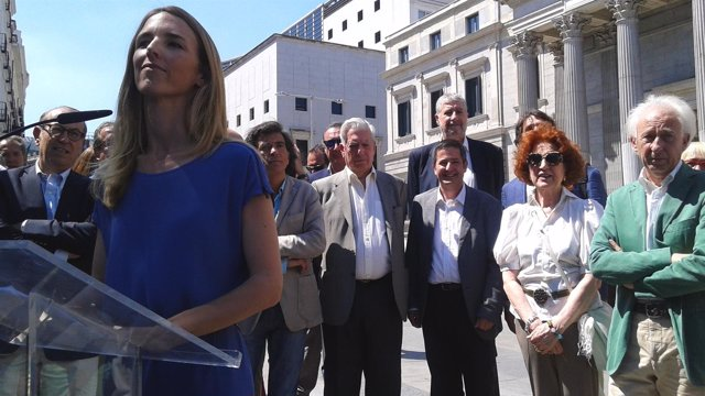 Miembros de la Plataforma 'Libres e iguales'