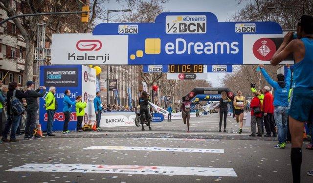 Florence Kiplagat eDreams Mitja Marató de Barcelona